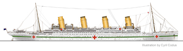 Illustration of Britannic by Cyril Codus