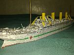 Photo of Britannic model