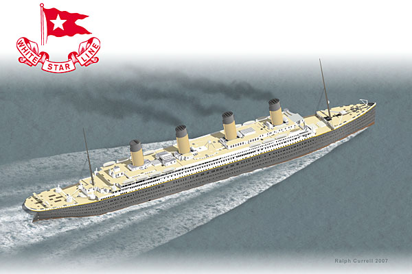 Illustration of Titanic